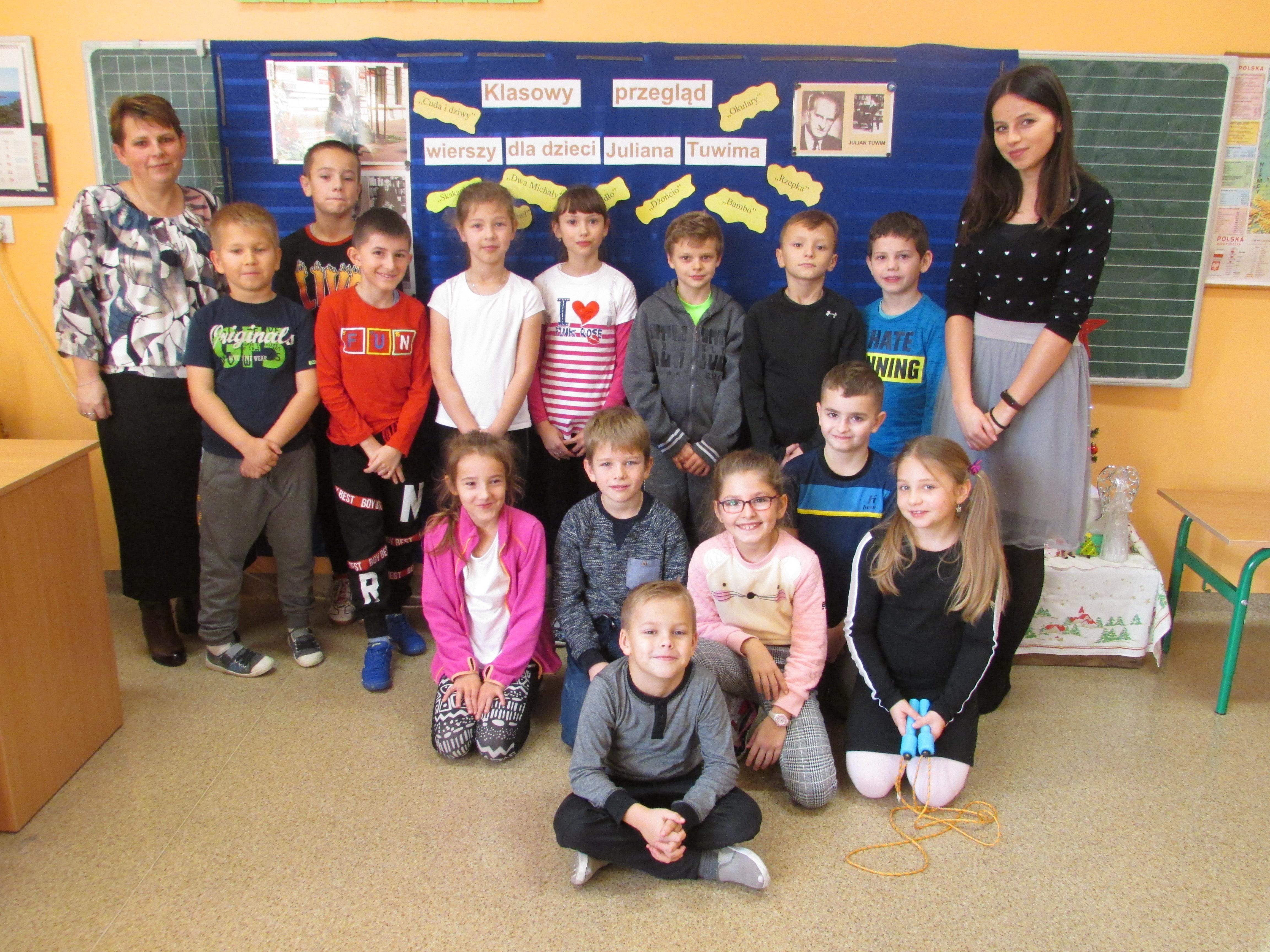 Klasowy Przegląd Wierszy Dla Dzieci Juliana Tuwima